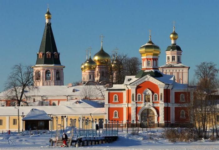 история иверского монастыря валдай