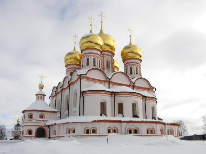 валдай иверский монастырь фото