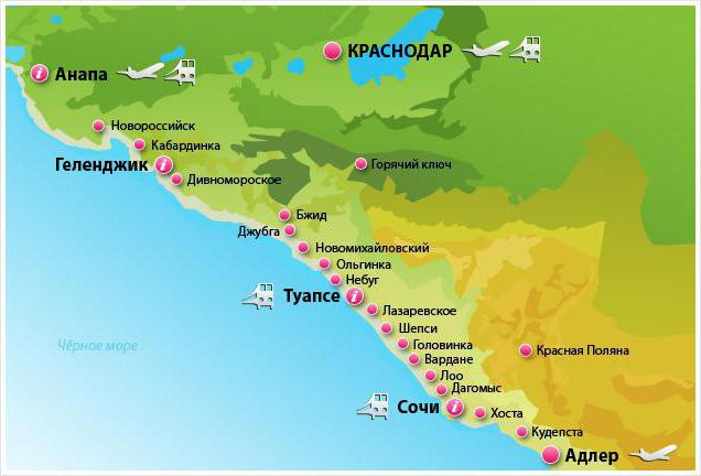 санатории и пансионаты краснодарского края