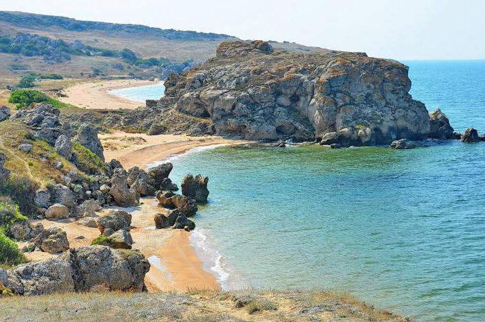 Генеральские пляжи крым фото