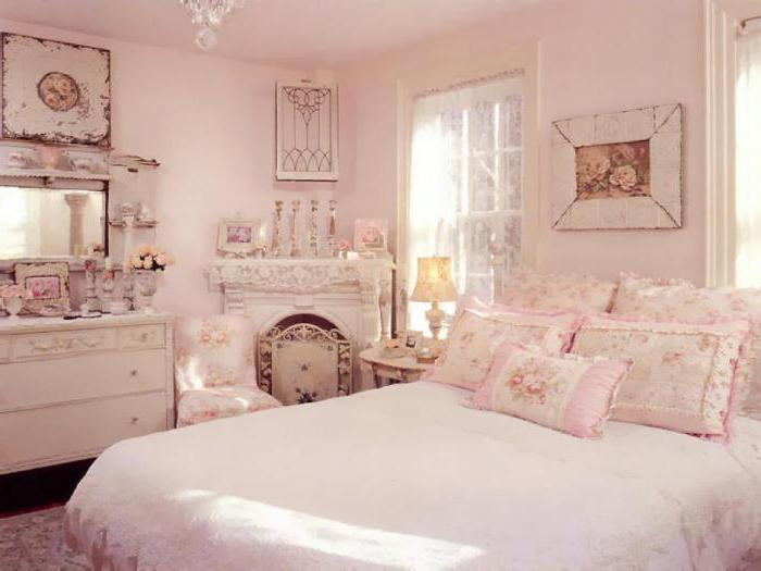 спальня в пастельных тонах классика жанра