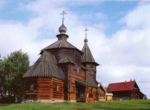 Древесное зодчество Старой Руси – наше культурное наследство