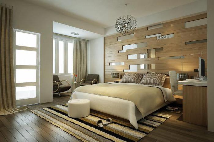 современные интерьеры спален