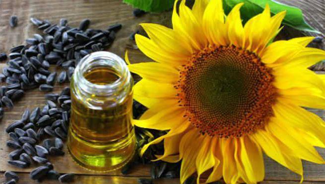 польза подсолнечного масла для лица