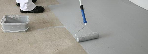 чем можно покрасить бетонный пол