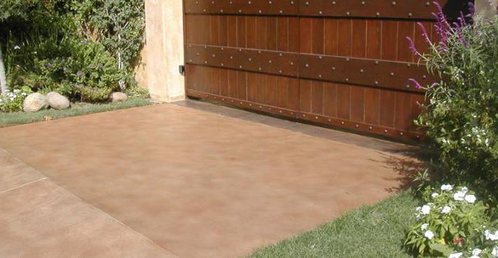 как правильно покрасить бетонный пол