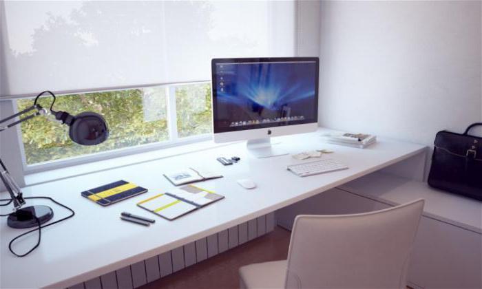 балкон рабочее место дизайн