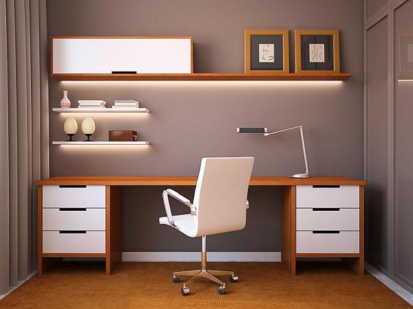 дизайн рабочего места в офисе