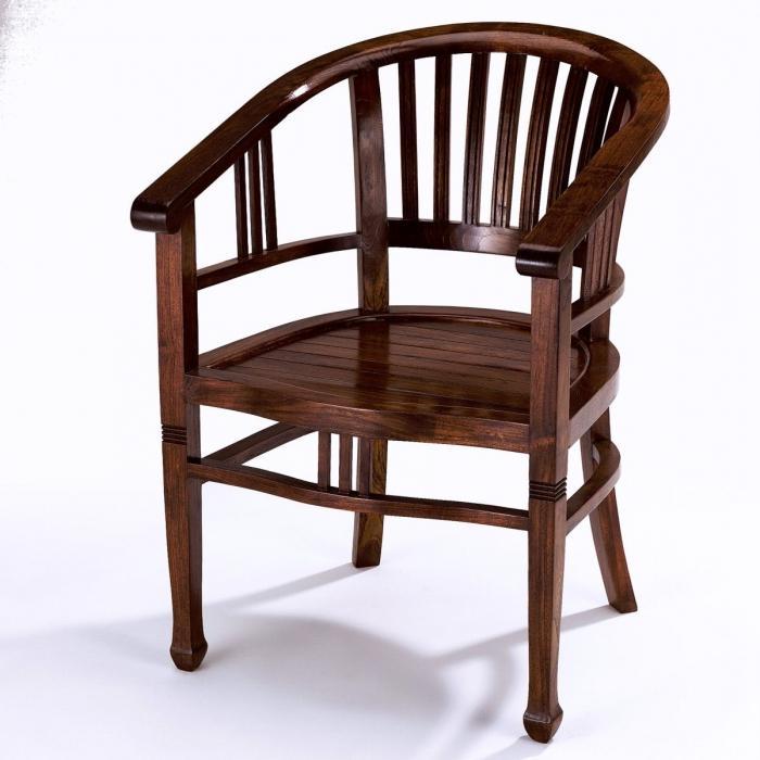 стулья из натурального дерева