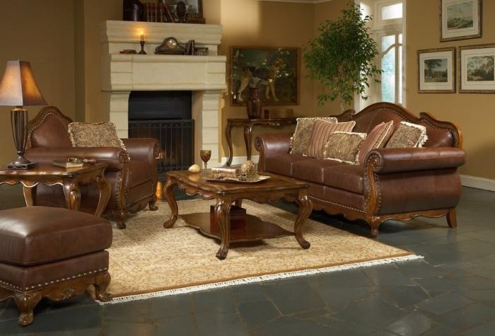 мебель для гостиной классика фото