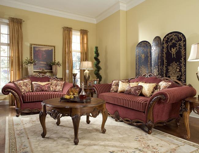 итальянская мебель для гостиной классика