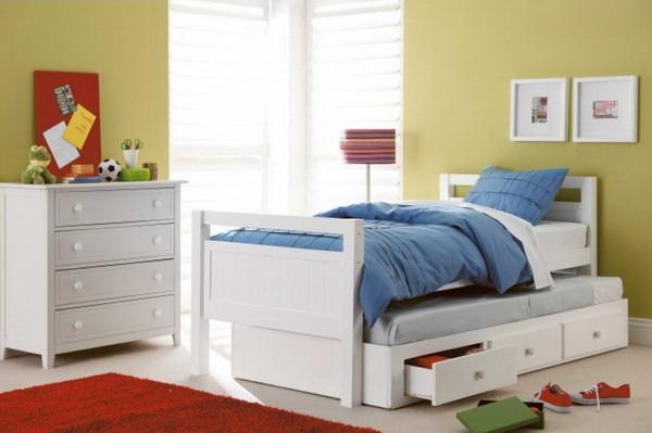 кровать подростковая с выдвижными ящиками