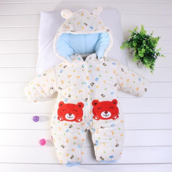 одежда для зимнего новорожденного