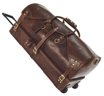 Кожаные дорожные сумки на колёсах топгал рюкзаки купить