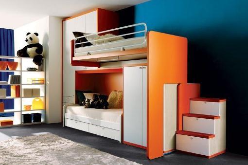 кровать чердак для двоих детей