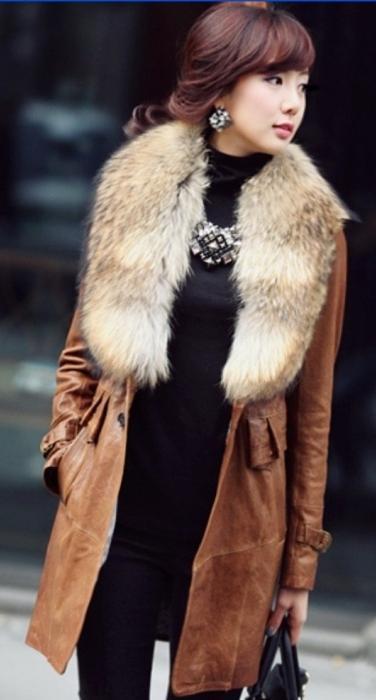 меховая юбка шакиры: