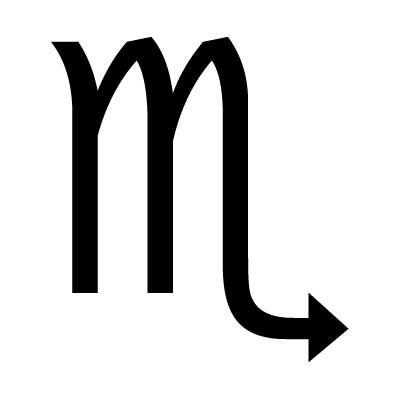 скорпион знак зодиака символ