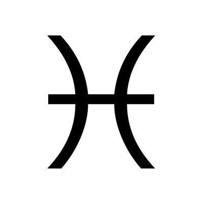 знак зодиака рыбы символ
