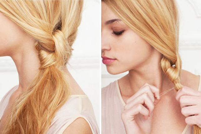 укладка на длинные волосы локоны
