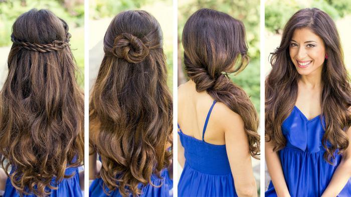 сделать прическу на длинные волосы