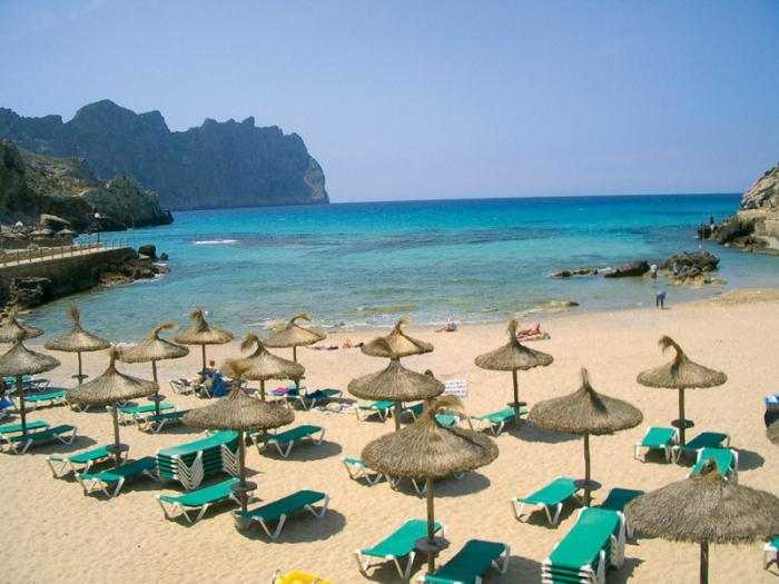 майорка песчаные пляжи