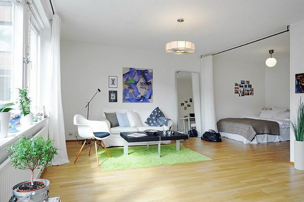 дизайн интерьера 1 квартиры