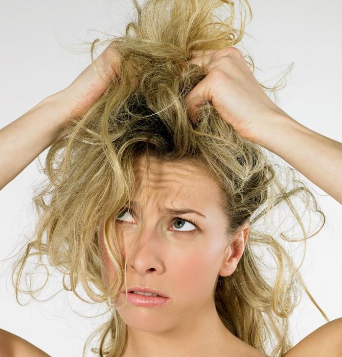Репейное масло весь день на волосах