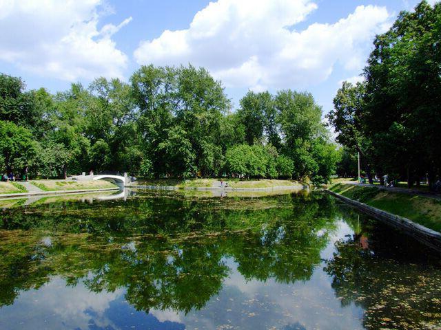 парк усадьба трубецких в хамовниках