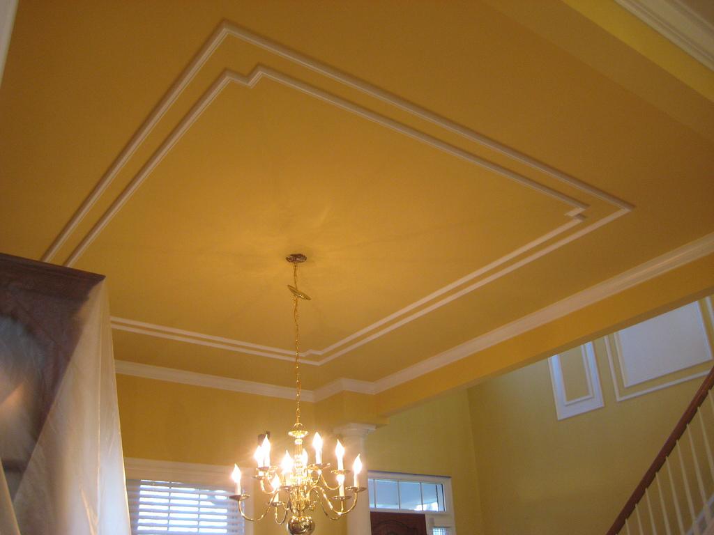 Как украсить потолок: интересные идеи, необходимые материалы, сочетание цветов, фото
