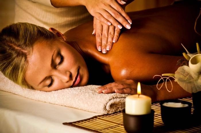 Как правильно делать массаж спины (расслабляющий) .