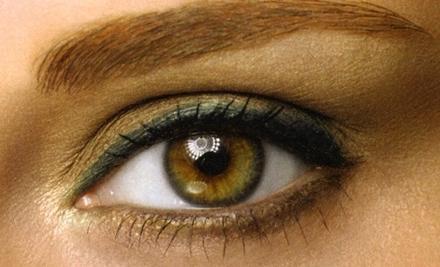 зелено коричневые глаза