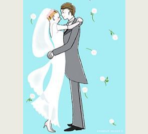 как подписать свадебную открытку