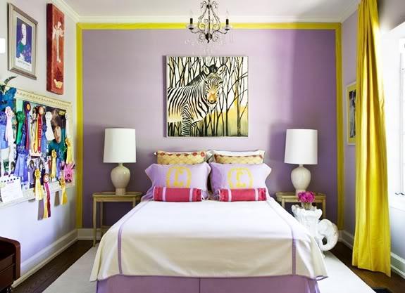 Сочетание сиреневого цвета в интерьере: примеры, советы дизайнеров, фото