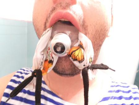 вытащить изо рта электролампочку