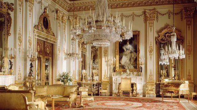 Букингемский дворец фото