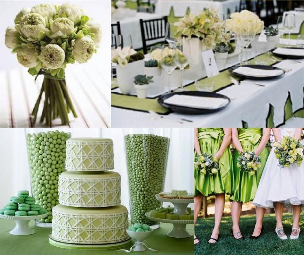 того свадьба в зеленых тонах фото интернета