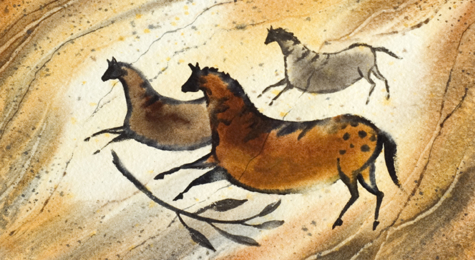 archeology, cave painting