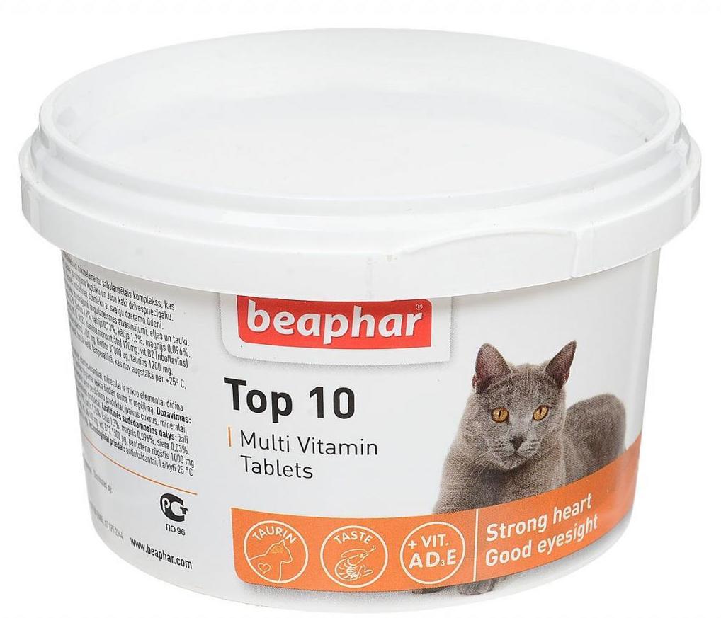 """""""beaphar top 10"""" – мультивитаминный комплекс"""