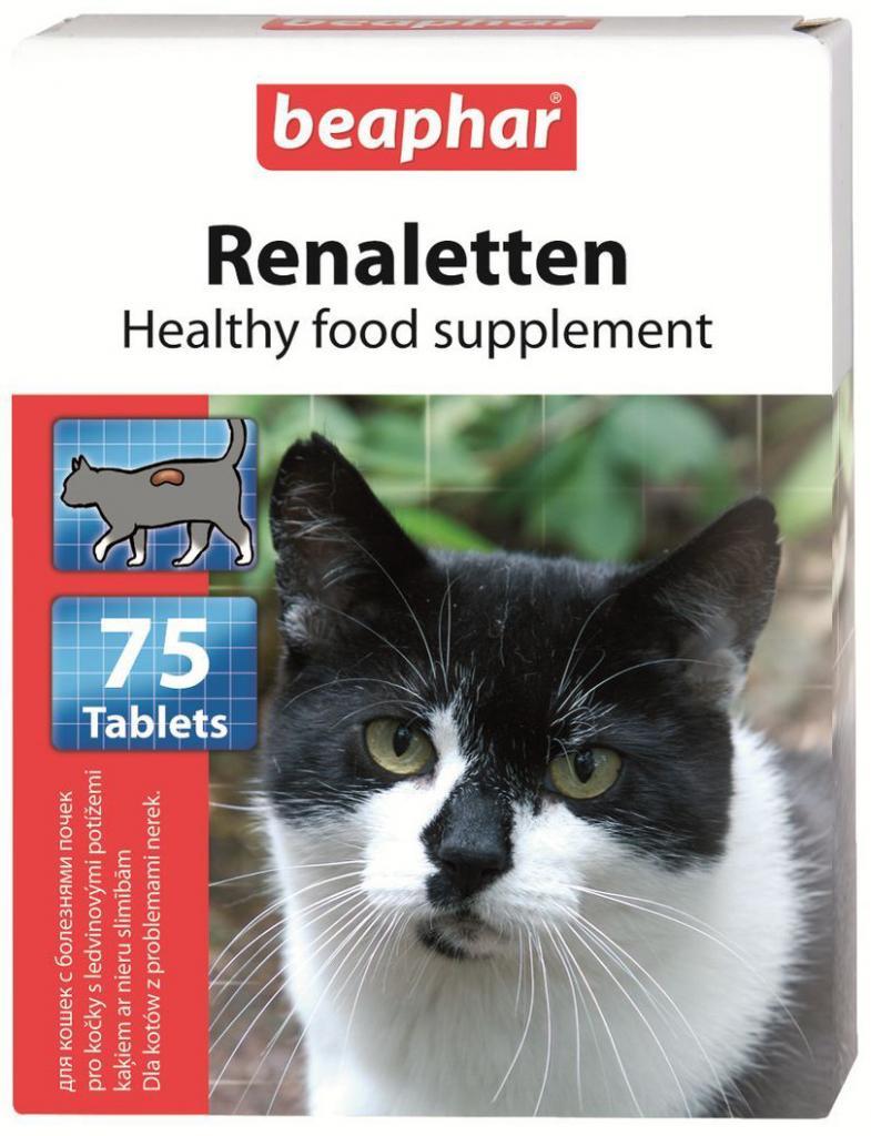 beaphar renaletten – таблетированные витамины