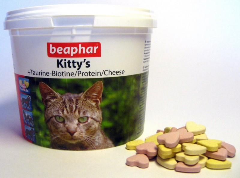 beaphar kitty's mix – витаминная добавка