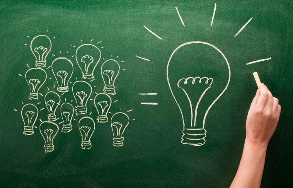 Коллективный разум рождает идею