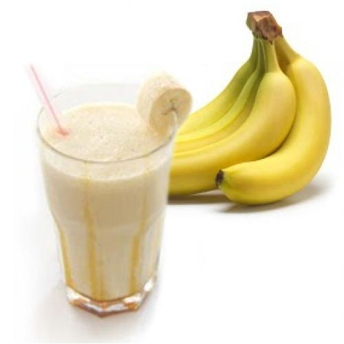 Рецепты бананового молочного коктейля