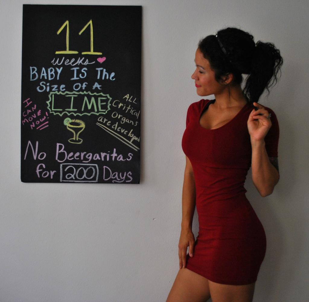 Awaiting baby