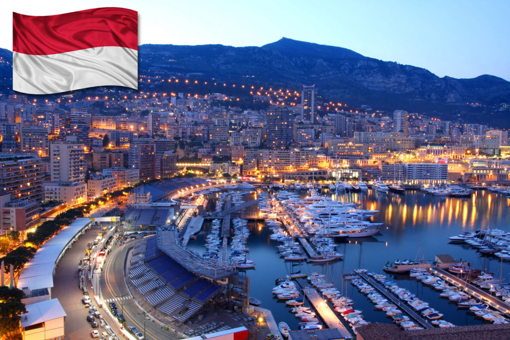 coat of arms of the Principality of Monaco