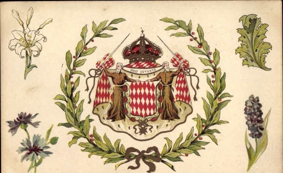 coat of arms of monaco meaning