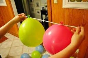 Как сделать гирлянду из воздушных шаров своими 100