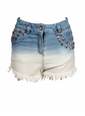 сделать джинсовые шорты белыми