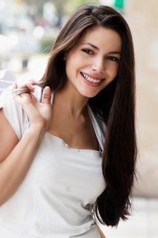 Красивые прически на длинные волосы без челки