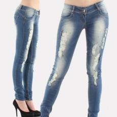 как сделать джинсы потертыми