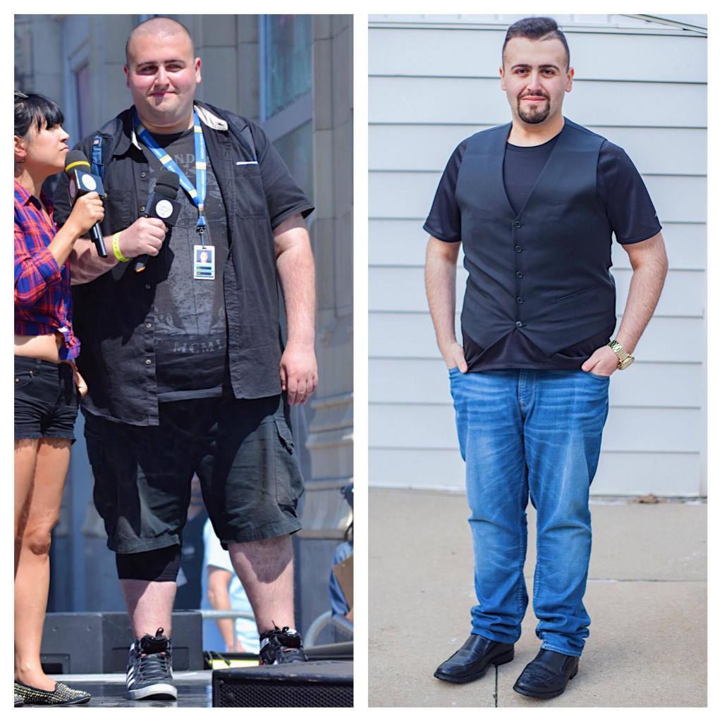 Примеры Похудения С Фото Мужчины.